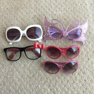 Girls Assorted sun/play glasses